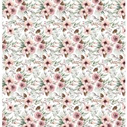 PFY1503 BLOOMING ROSES SOFT PINK ENTELADO PAPER