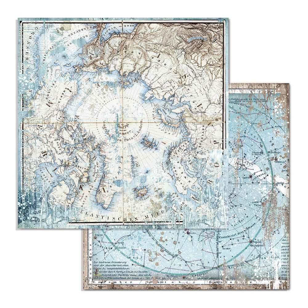 Stamperia Arctic Antarctic Arctic (SBB730)