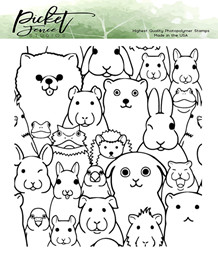 PFS Say Cheese Clear Stamps (A-141)