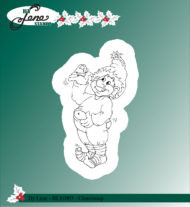 BLS1003 Stempel Christmas Elves-2