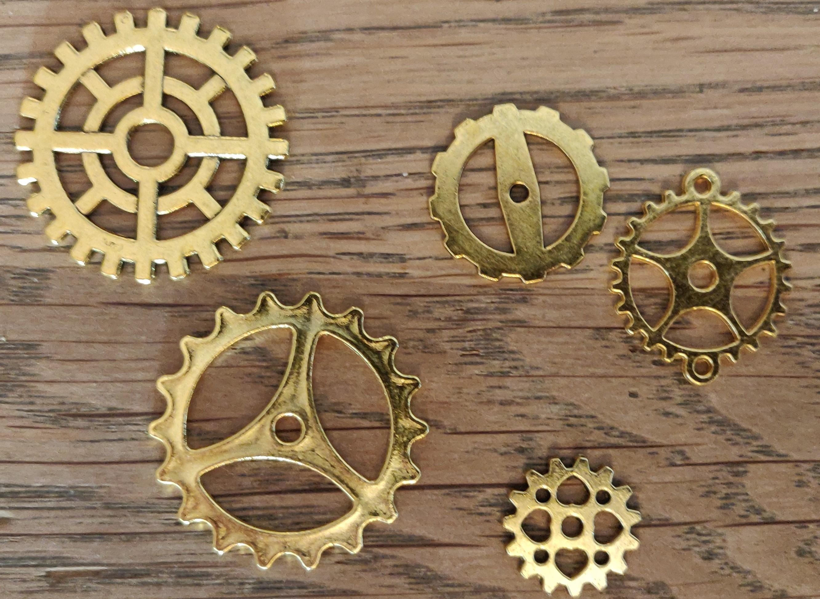 IC Metal guld tandhjul
