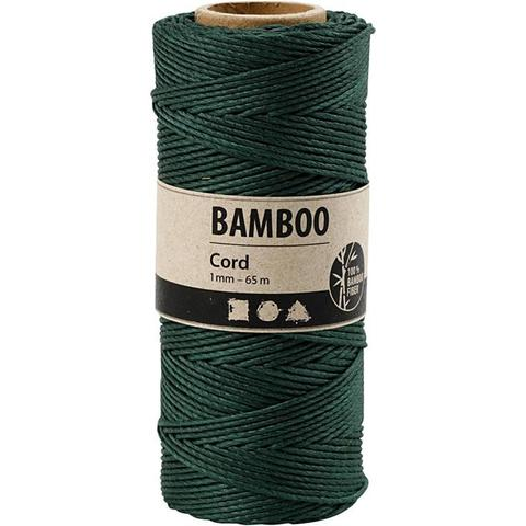 "Bamboo Cord ""Green"" 503486 pr meter"