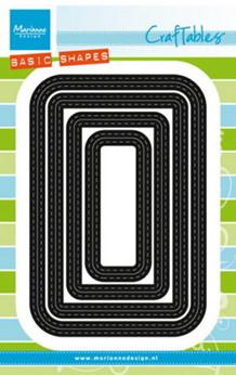 Marianne Design CUT/EMB Stitched Passepartout