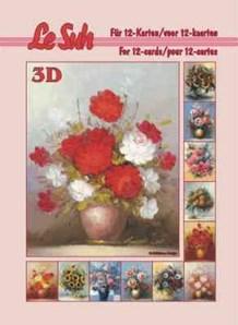 3d A5 bog: Blomster i vaser