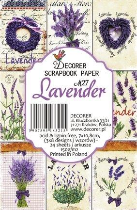 Decorer Lavender Paper Pack