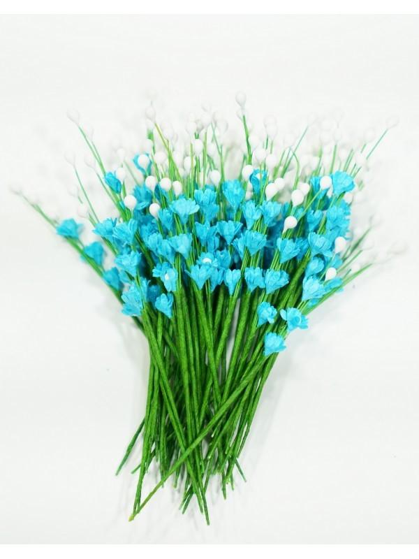 ICMF13 Små Blomster Turkis