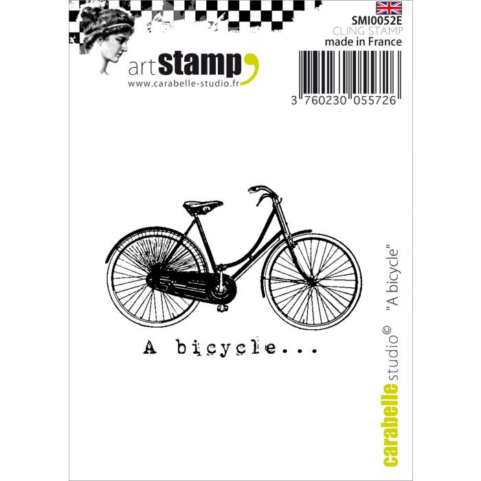 SMI0052E Stamp A Bicycle