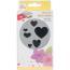 EK punch Hjerte confetti