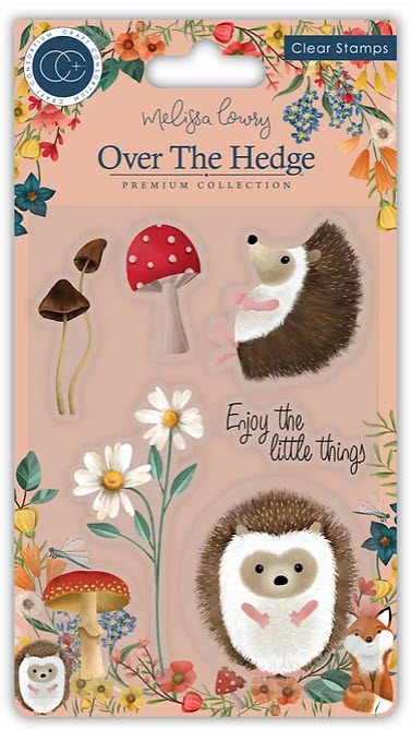 CCSTMP016 Over the Hedge - Stamp Set - Harry the Hedgehog