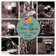 Dixi Craft Toppers Beer Brown