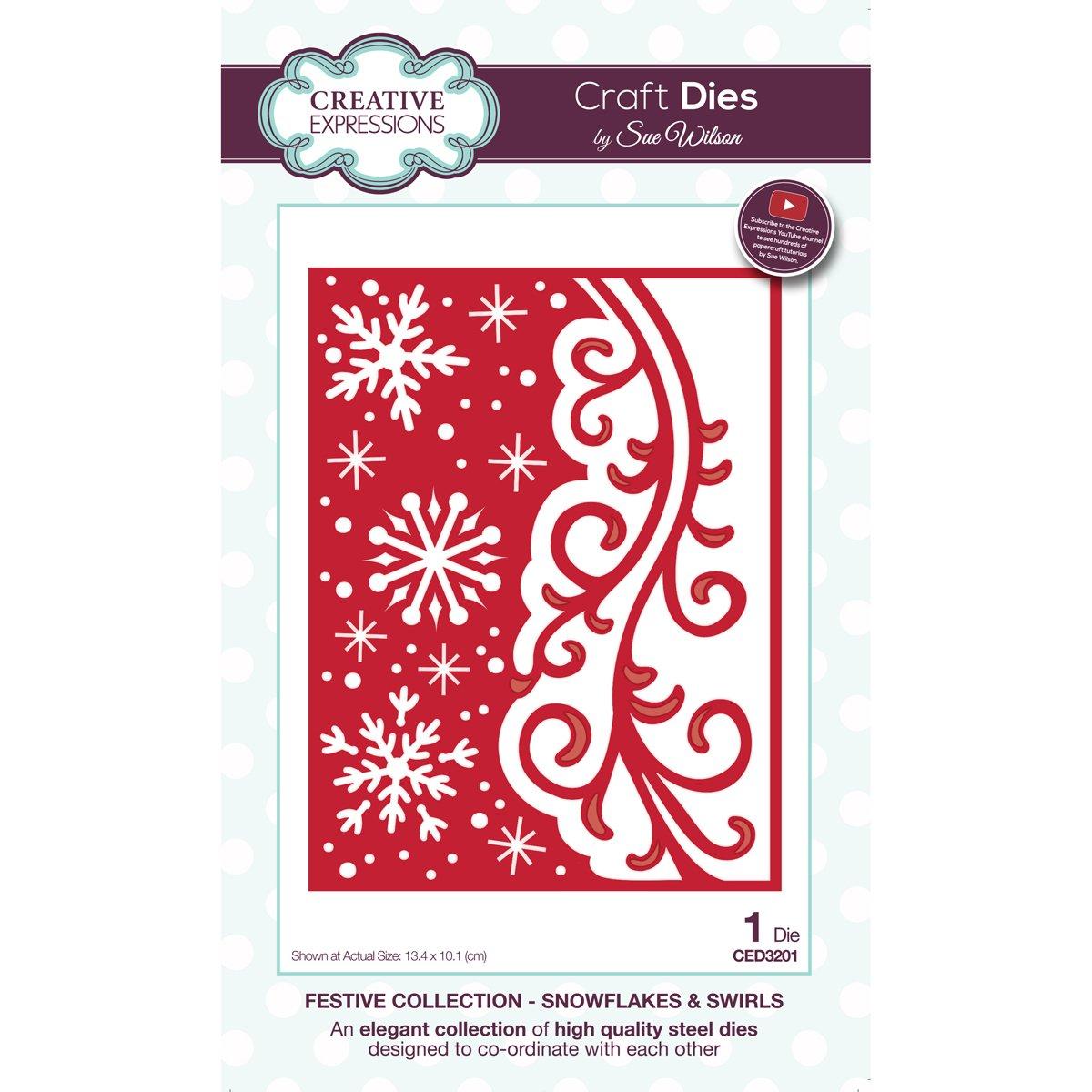 CE CED3201 Snowflakes & swirls