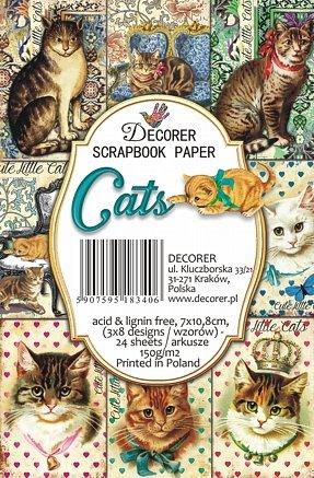 Decorer Cats Paper Pack