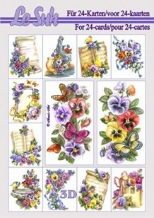 3d A5 bog: Blomster og Natur