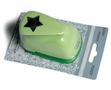 Easy Punch grøn stjene 2,5 cm