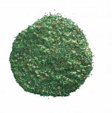 CE Embossingpulver Golden Green Sparkle