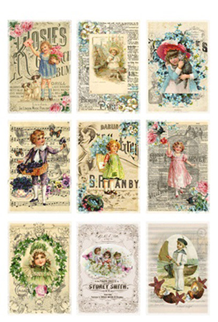 KP0030 Antique posters