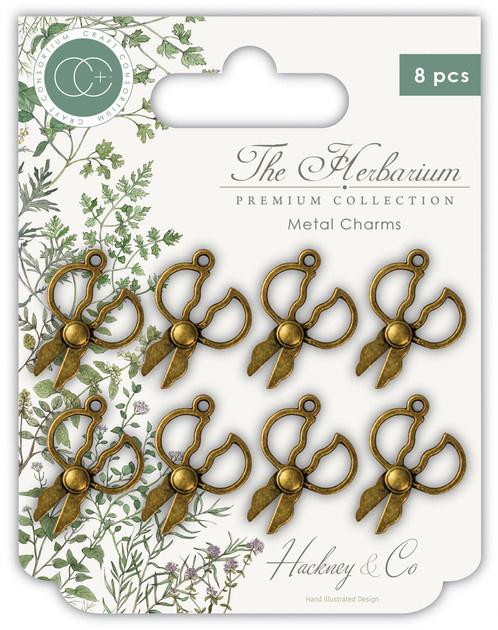 CCMCHRM004 The Herbarium Herb Scissors Metal Charms