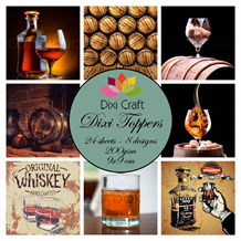 Dixi Craft Toppers Whiskey