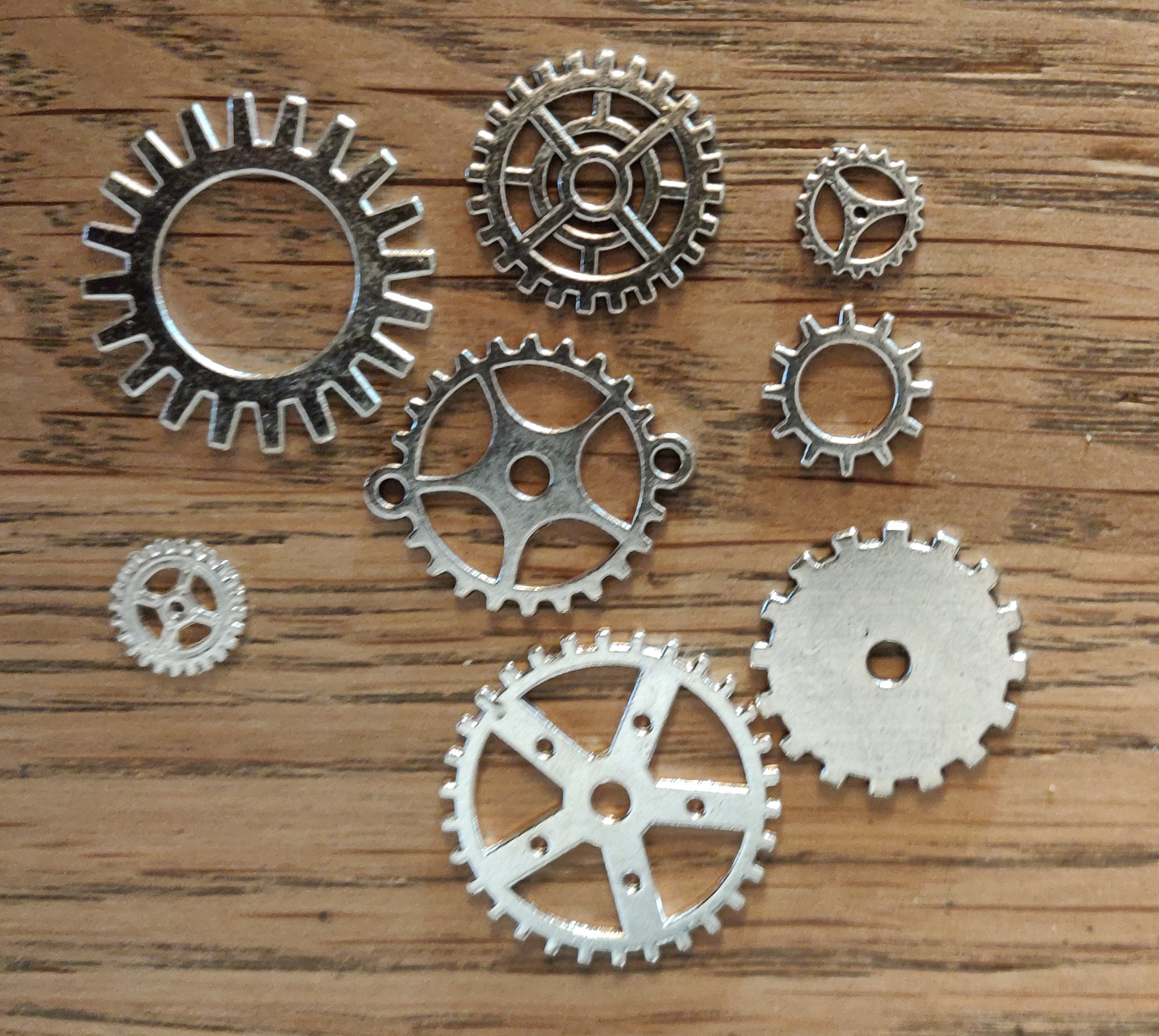 IC Metal sølv tandhjul