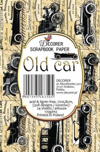 Decorer Old Car Paper Pack