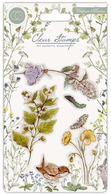 CCSTMP005 Wildflower Meadow - Wild Flowers - Clear Stamp Set