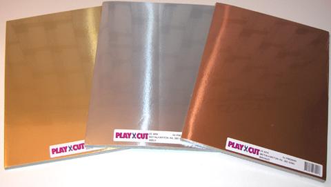 51954-1  Metalkarton Guld A4