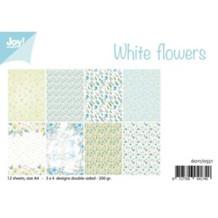 Joy Enkelte ark - White Flowers