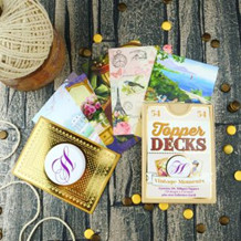 HD DECK004 Vintage Moments Topper Deck