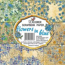 Decorer Flowers in Blue