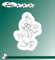 BLS1004 Stempel Christmas Elves-3