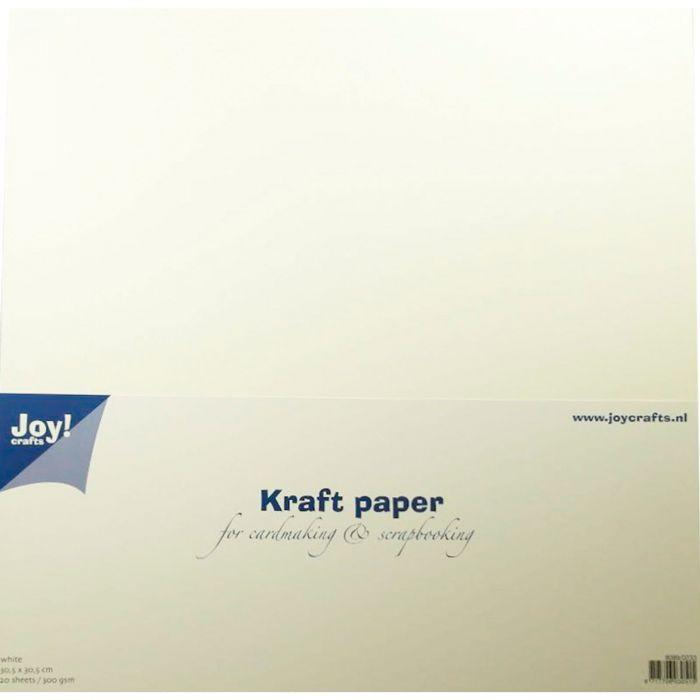 Joy Crafts Kraft paper White