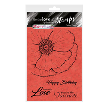 HD For the Love of Stamps - Perfect Poppy