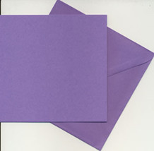 Dovecraft-Mireillecraft Kort og Kuvert Lilla