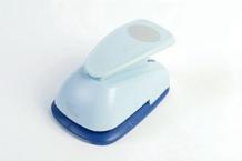 Easy punch blå oval