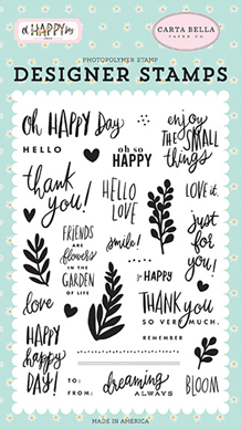 Carta Bella Happy Happy Day Clear