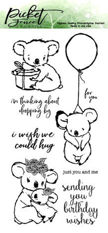 PFS I Wish We Could Hug Clear Stamps (A-127)