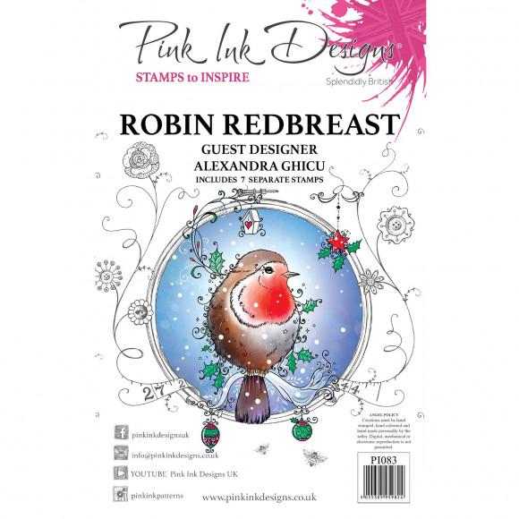 CE PI083 Robin redbreast