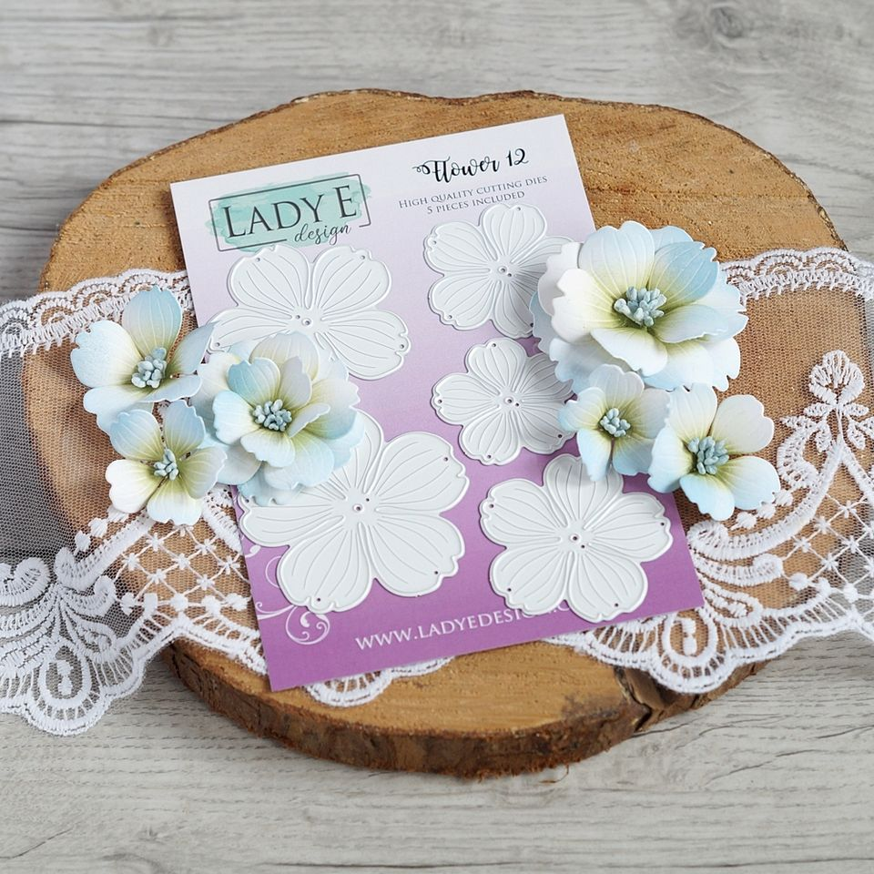 Lady E Design Flower 12
