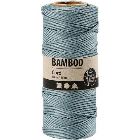 "Bamboo Cord ""Dark Turquoise"" 503487 pr meter"