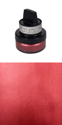 "Cosmic Shimmer Gilding Polish / Voks ""Rich Red"""