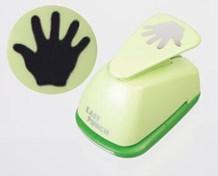 Easy Punch grøn hånd