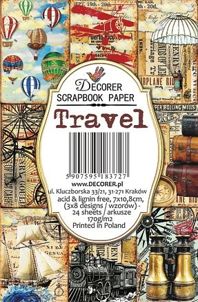 Decorer Travel Paper Pack