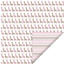 FelicitaDesign Rosa giraf/zigzag