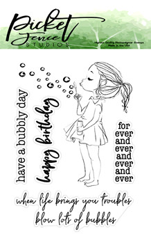 PFS Kylee Boo Clear Stamps (S-118)