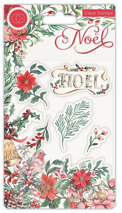 CCSTMP046 NOEL - Stamp Set - Flora