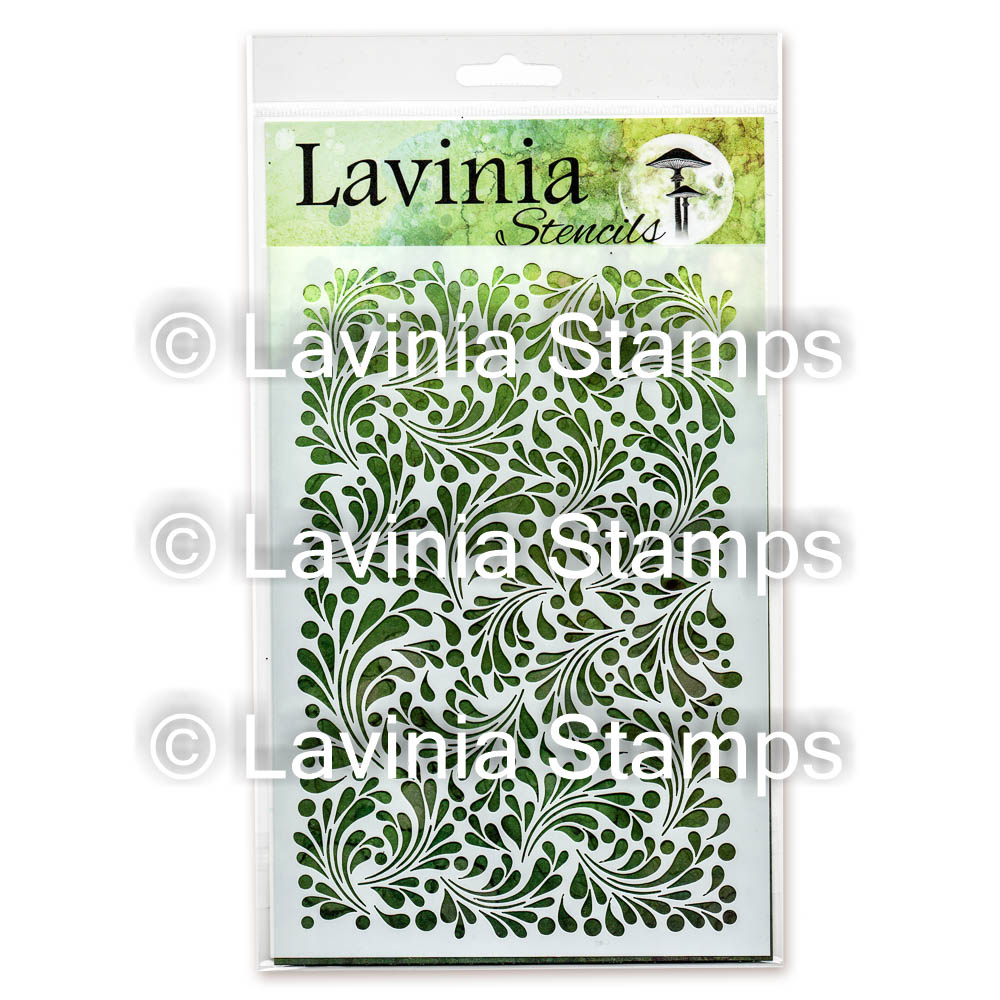 LAV ST014 Feather Leaf