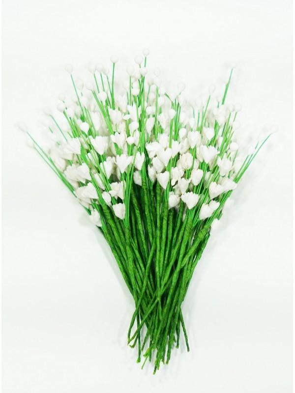 ICMF02 Små Blomster Hvide
