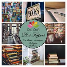 Dixi Craft Toppers Bøger farver