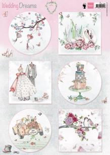 Marianne Design A4 Motiv ark Wedding Dreams