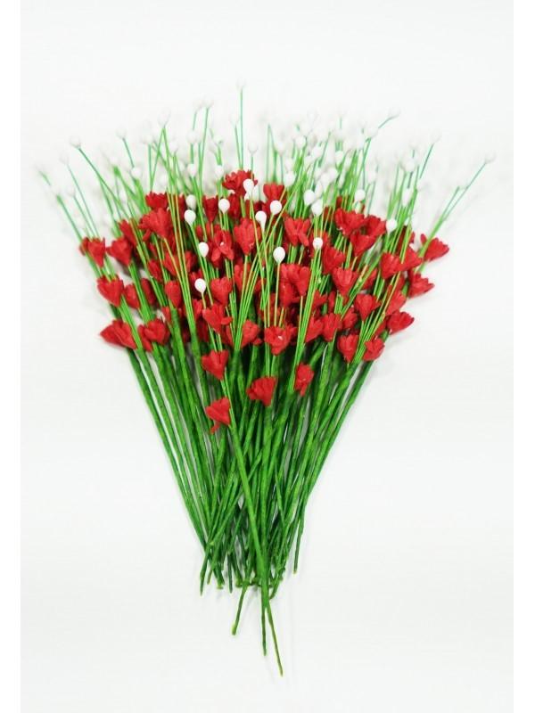 ICMF007 Små Blomster Rød